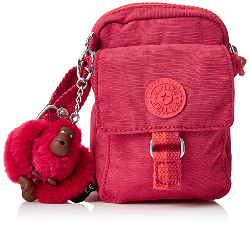 C Kipling Iaka S Bandolera Teddy Duo Mujer Bolsos Pink punch wqTf6w