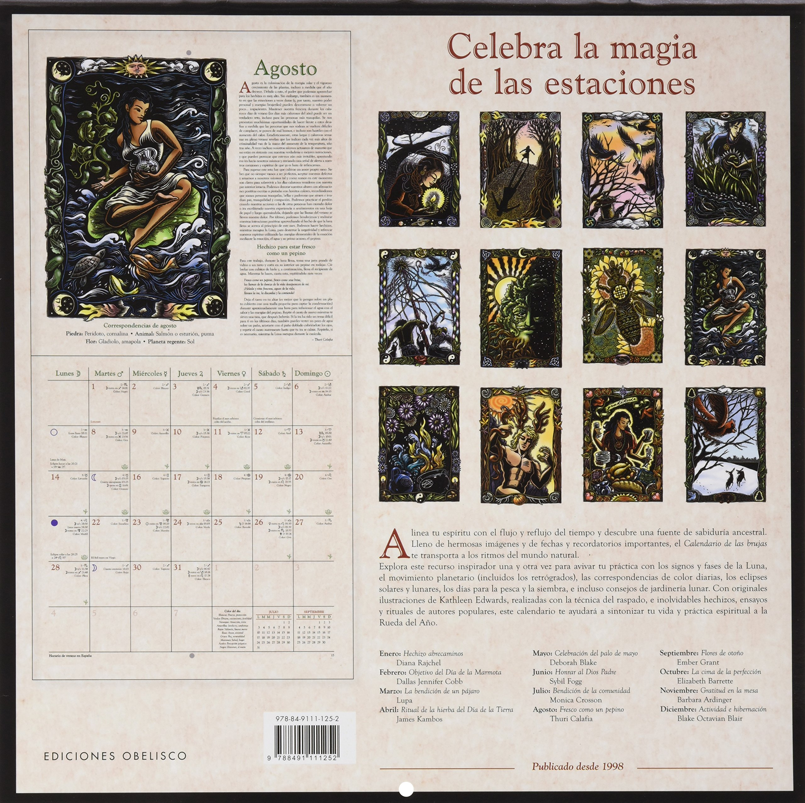 2017 Calendario Brujas (AGENDAS): Amazon.es: LLEWELLYN ...