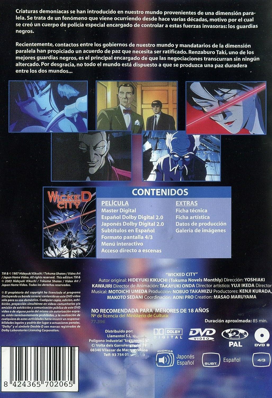 Wicked City: Amazon.es: Yoshiaki Kawajiri: Cine y Series TV