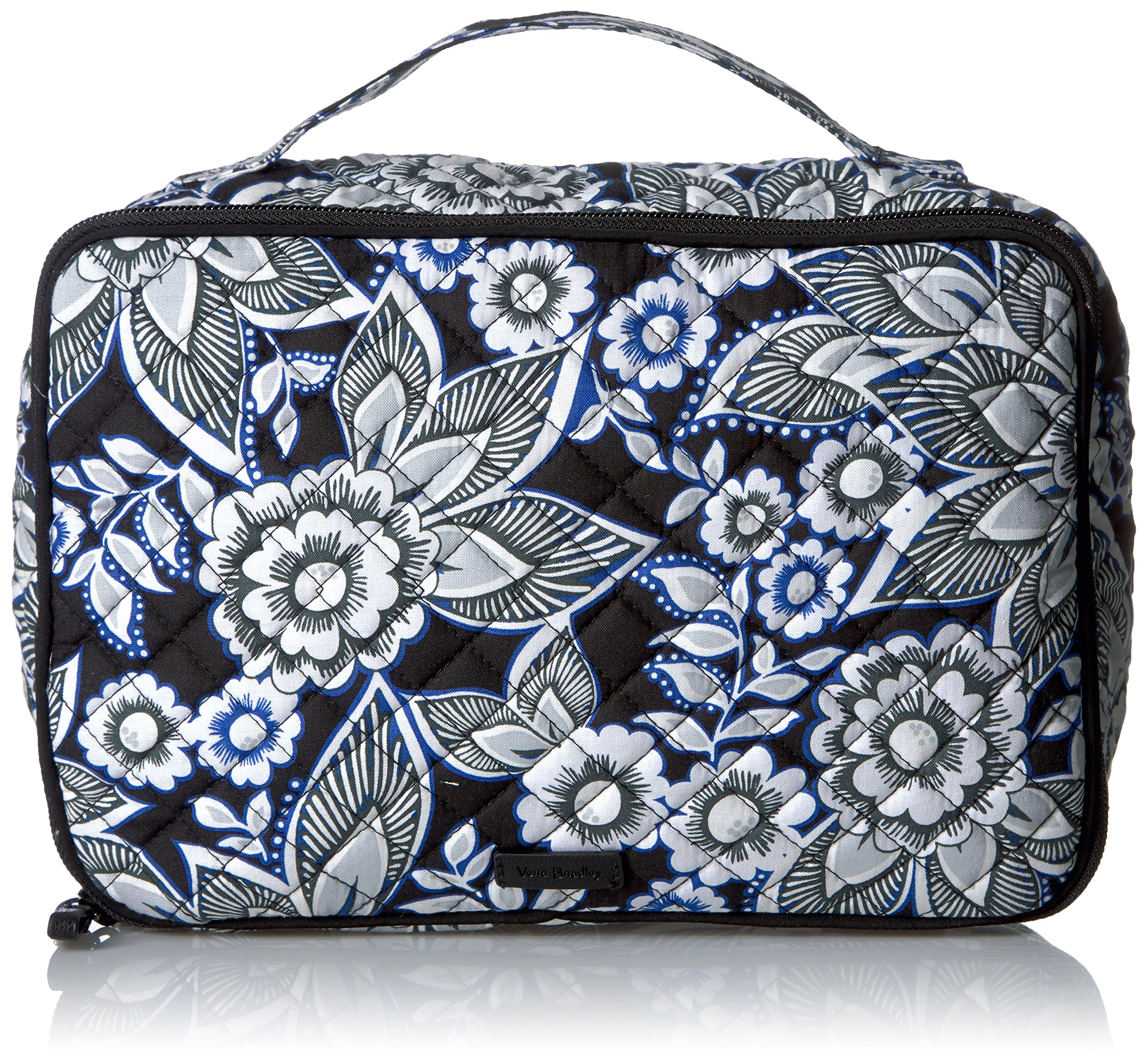 Vera Bradley Women's Iconic Large Blush and Brush Case-Signature