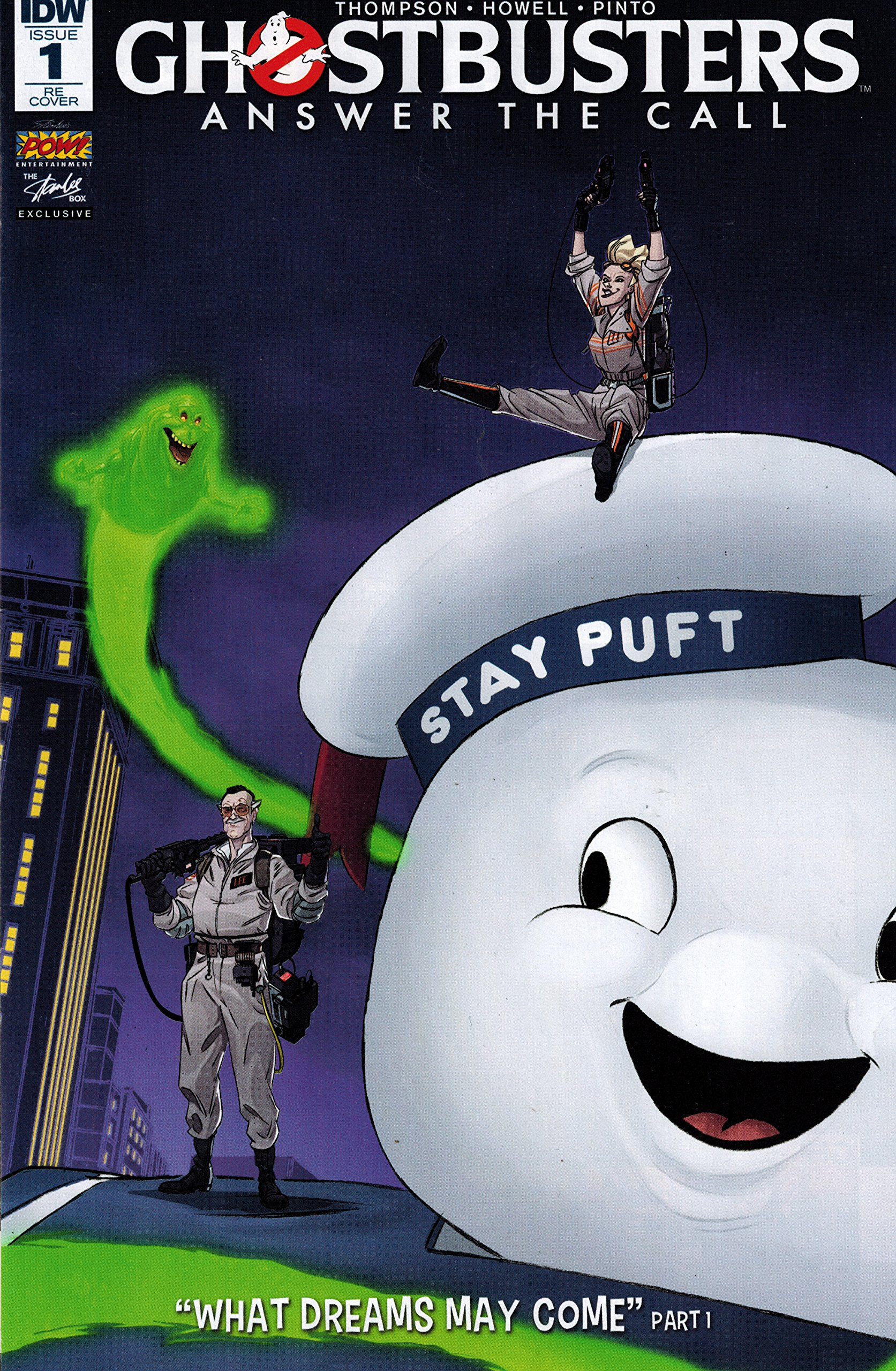 GHOSTBUSTERS 101 #1 Subscription Cover A 2017