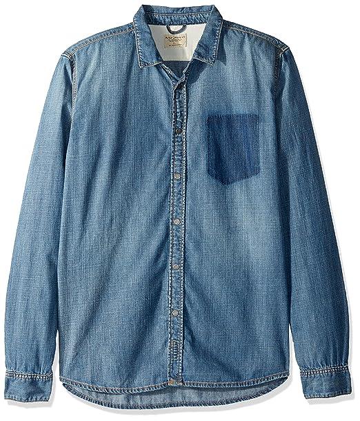 tehtaan aito uskomattomia hintoja Uudet tuotteet Nudie Jeans Men's Henry Ripped Pocket, Denim, 001 at Amazon ...
