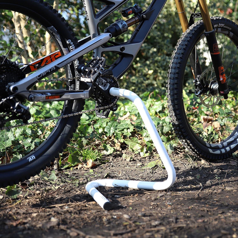 Cycloc Expositor de bicicleta Hobo y soporte de trabajo para soportes inferiores huecos