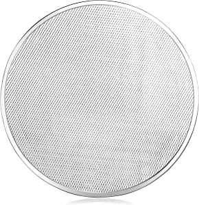 New Star Foodservice 50998 Seamless Aluminum Pizza Screen, Commercial Grade, 20-Inch, Pack of 6