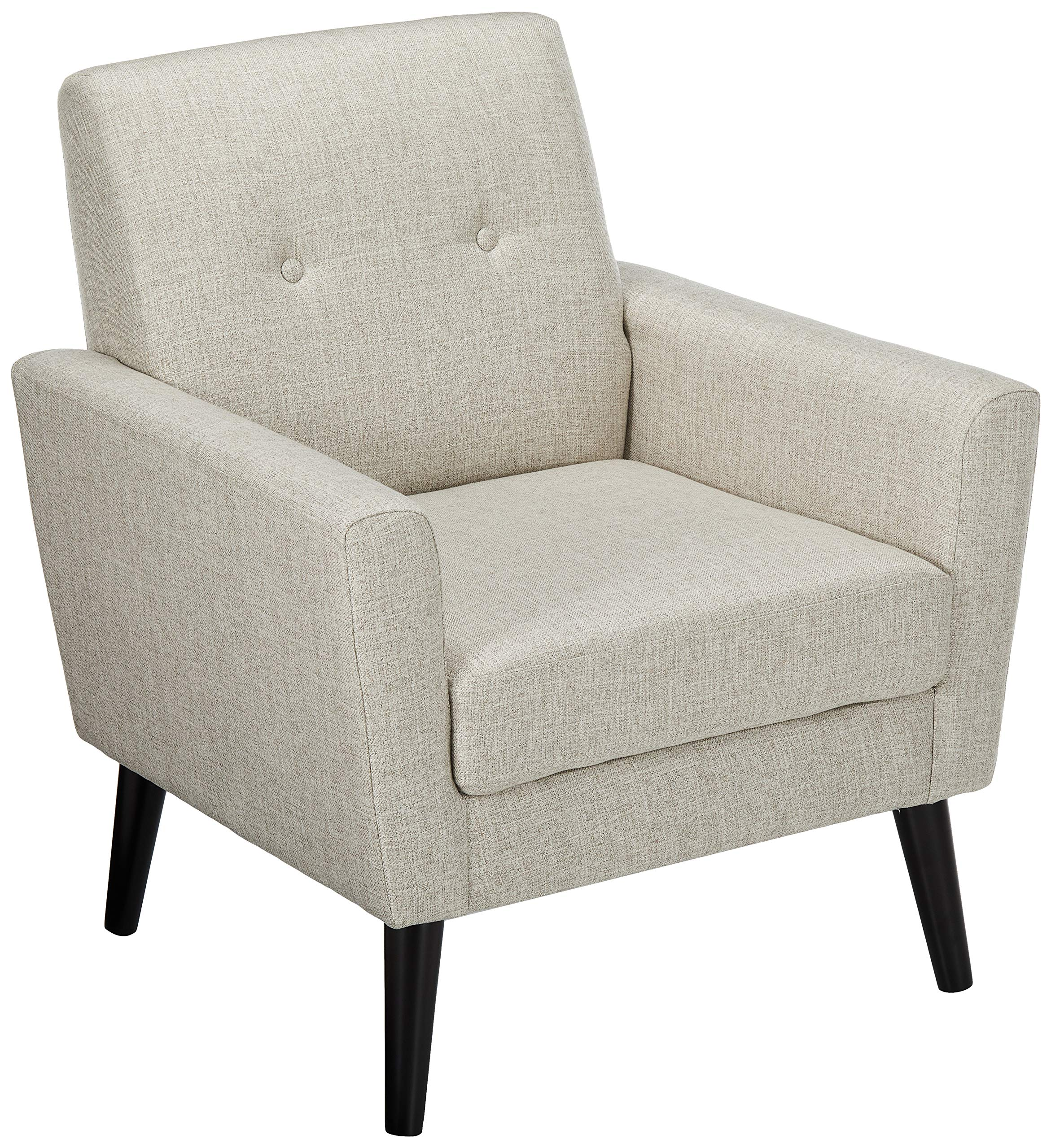 Christopher Knight Home 303244 Sierra Mid Century Beige Fabric Club Chair by Christopher Knight Home