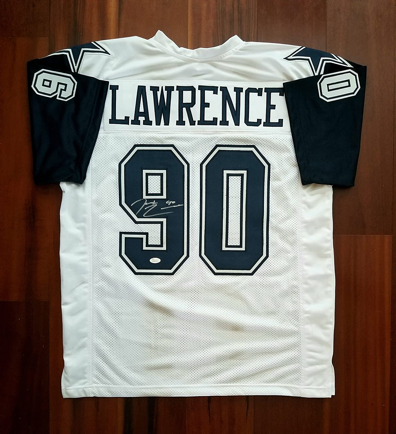DeMarcus Lawrence Autographed Signed Jersey Dallas Cowboys JSA at ...