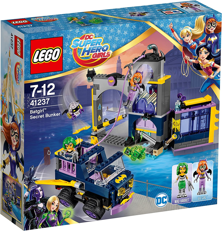Lego Uk 41237 Batgirl Secret Bunker Construction Toy Amazon Co Uk Toys Games