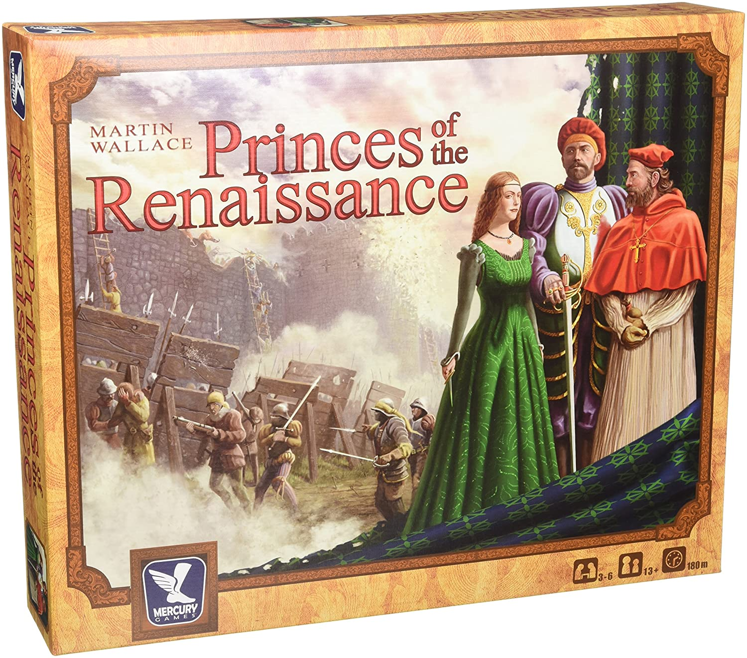 Princes of the Renaissance Board Game