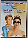 The Princess Diaries: Two-Movie Collection (Three-Disc Combo Blu-ray/DVD Combo in DVD Packaging) by Walt Disney Studios Home Entertainment