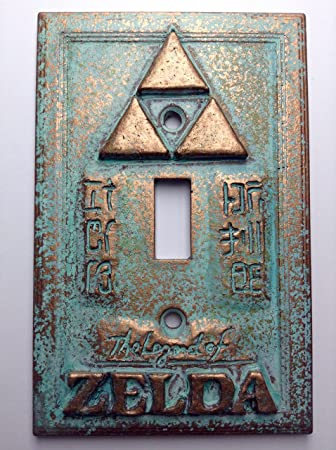 Amazon legend of zelda stonecopperpatina light switch cover amazon legend of zelda stonecopperpatina light switch cover copperpatina toys games sciox Image collections
