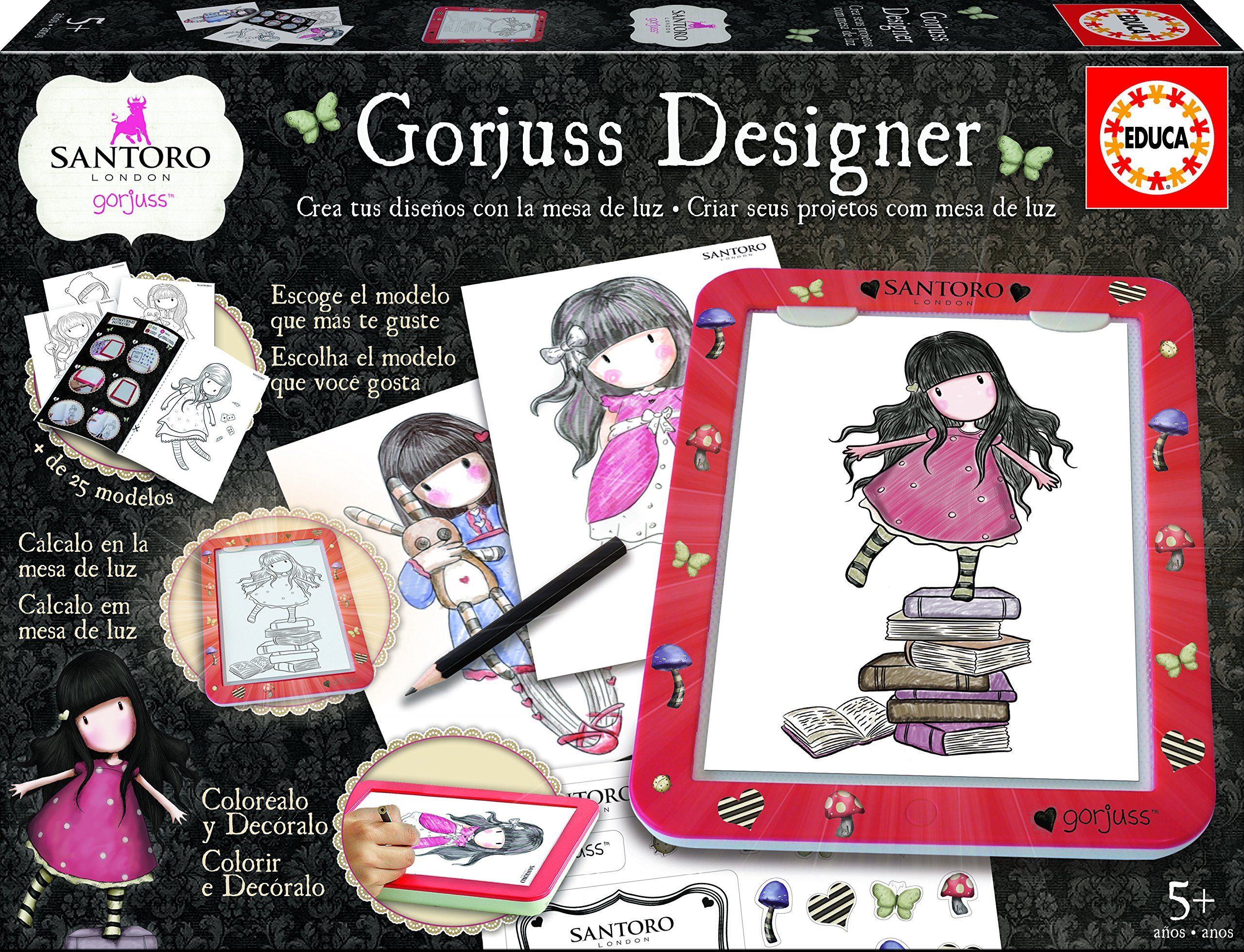 Gor-juss Designer (Educa Borrás 17266): Amazon.es: Juguetes ...