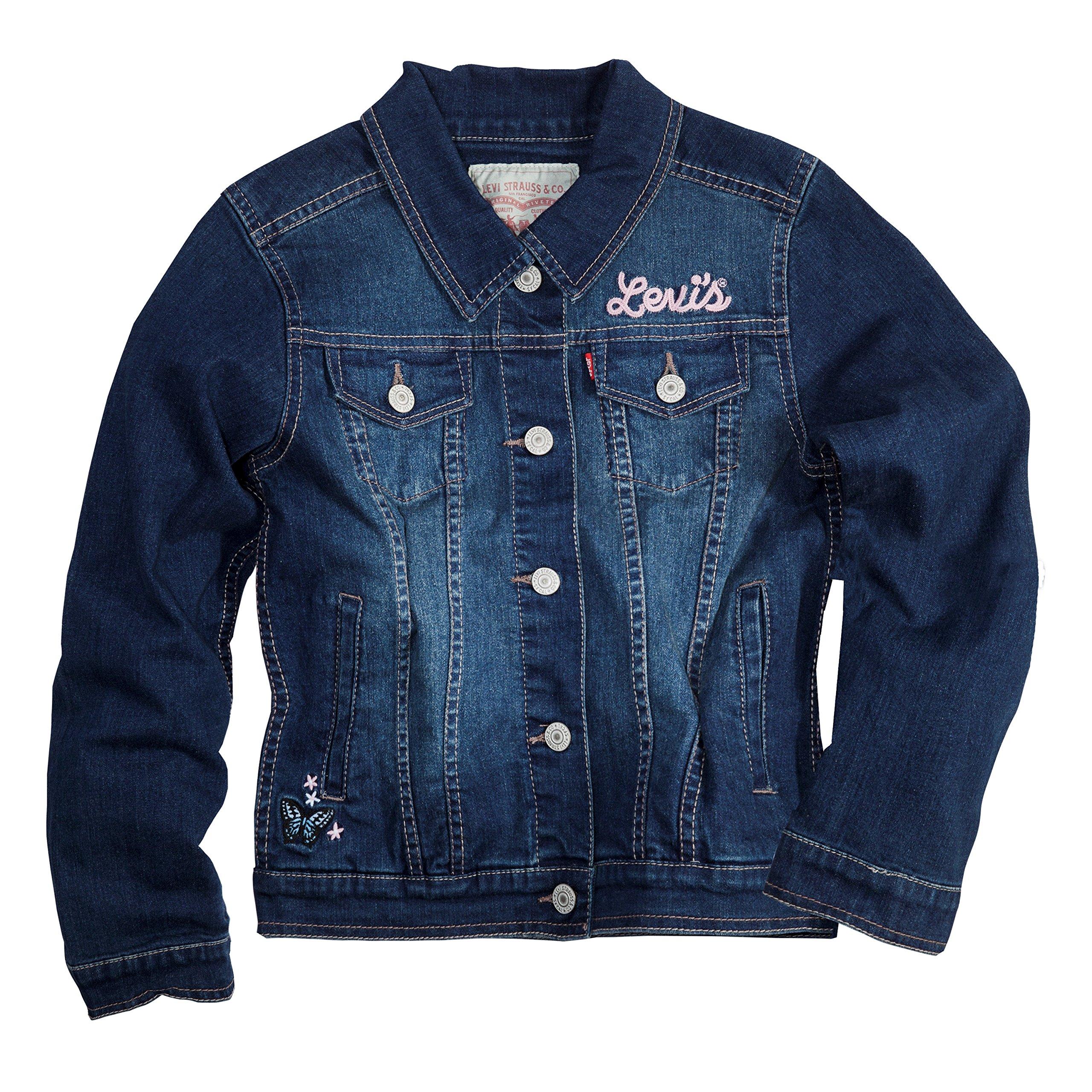 Levi's Toddler Girls Denim Trucker Jackets,Rockabilly,2T by Levi's