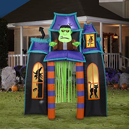 Amazon.com: Gemmy - Halloween hinchable con diseño de arco ...