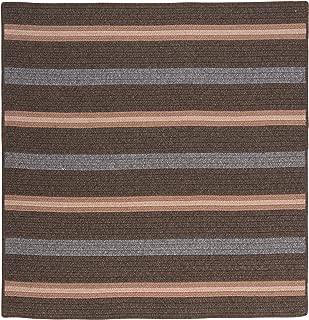 product image for Salisbury Square Rug, 6-Feet, Bark
