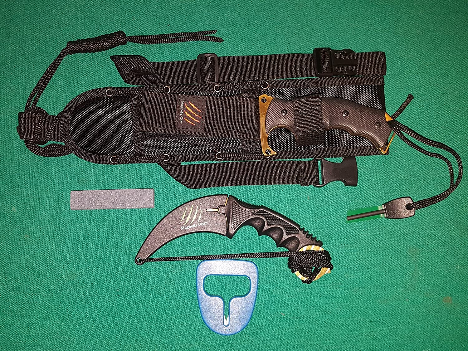 Karambit and Huntsman Knife 2 Piece Set