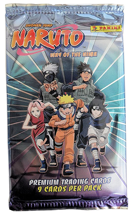 Naruto-Way of the Ninja-Premium Trading Cards: Amazon.es ...