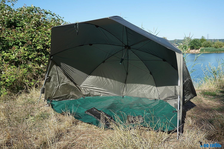 DD-Tackle 2 - Refugio tienda de campaña para pesca, ovalada, XXL, 152,4 cm, 3 m, 5000 mm