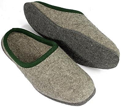 f11c7c0b7258 Pantoffelmann BIO wool felt slippers house shoes unisex adult sizes ...