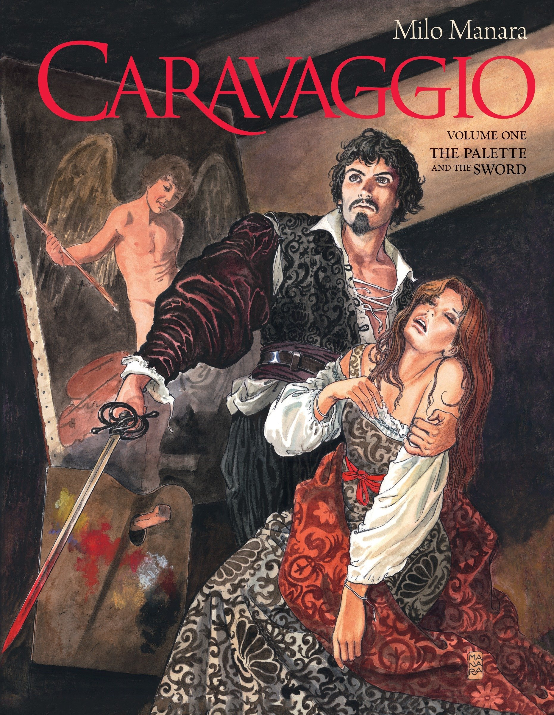 Caravaggio Volume 1 Manara Milo 9781506703398 Amazon Com Books