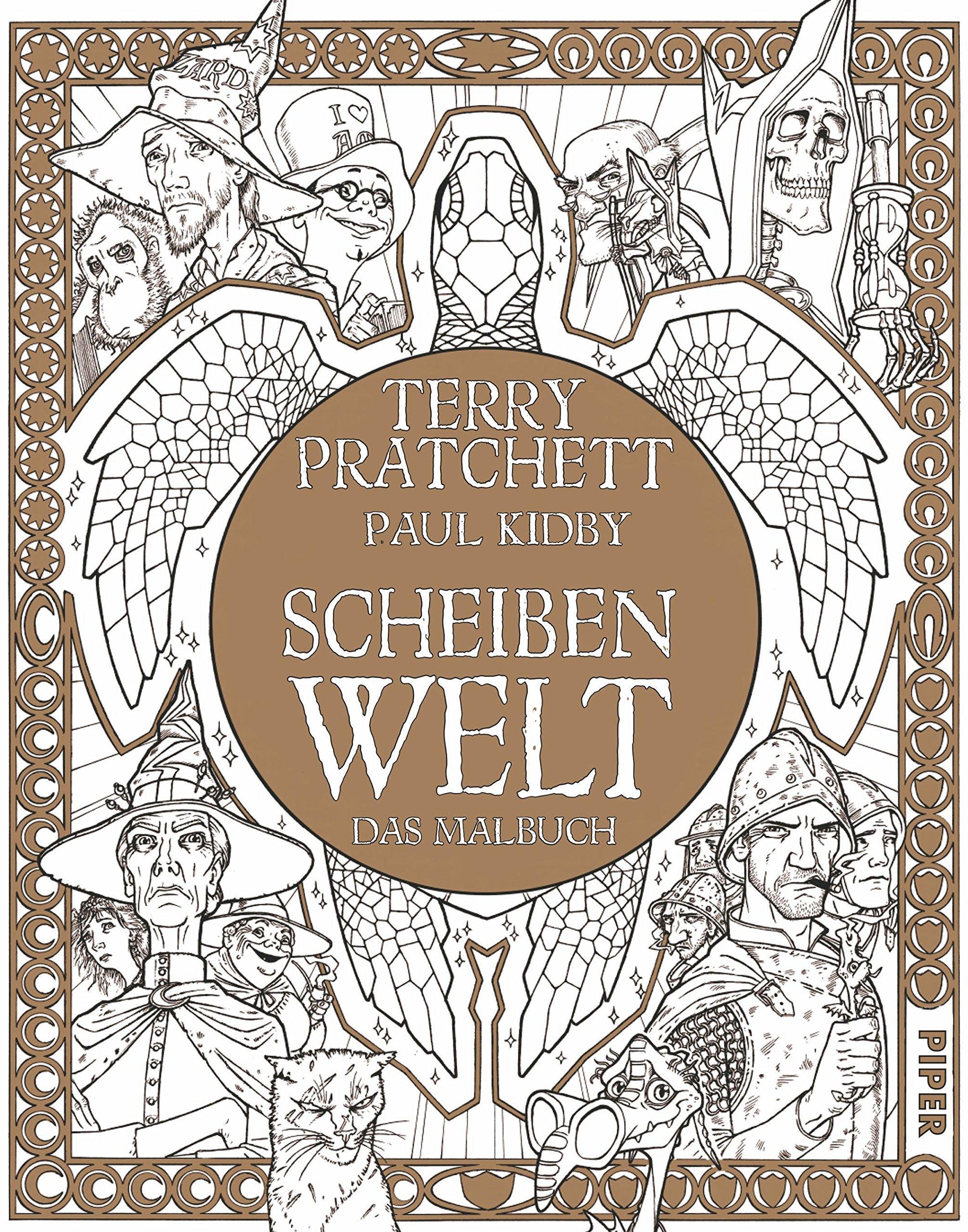 Scheibenwelt: Das Malbuch: Amazon.de: Terry Pratchett, Paul Kidby ...