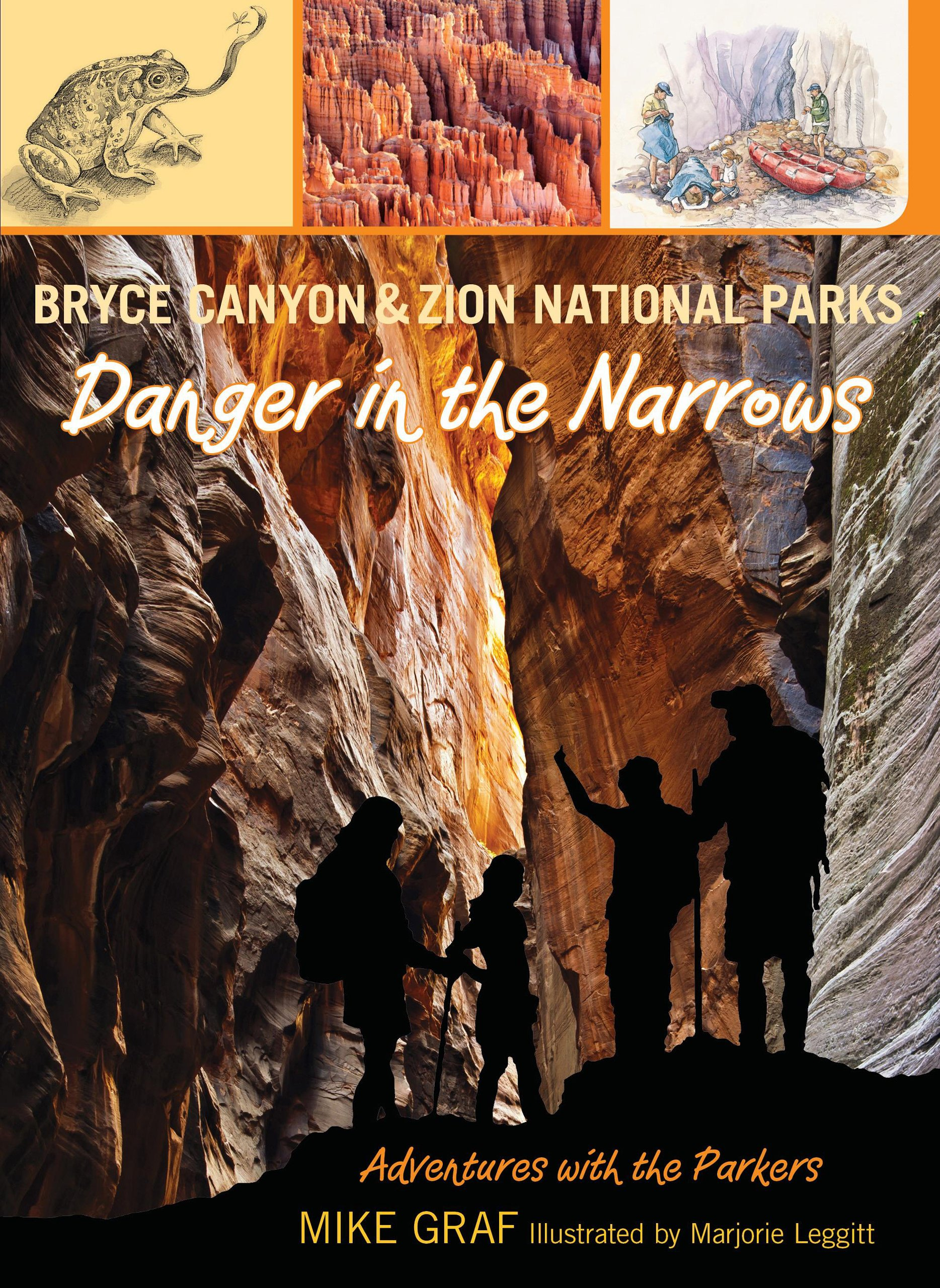 Download Bryce Canyon and Zion National Parks: Danger in the Narrows (Adventures with the Parkers) pdf epub