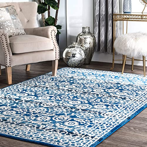 nuLOOM Istanblue Persian Area Rug