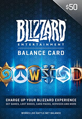 $50 Blizzard Entertainment Balance Card - [Digital Code]