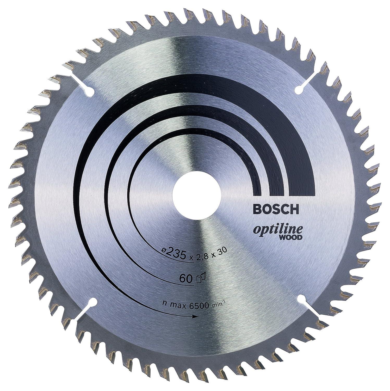 190 x 20//16 x 2,6 mm 24 Bosch Professional 2608640799 Lame Grey