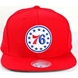Philadelphia 76ers Mitchell & Ness NBA Current Wool Solid 2 Snapback Cap