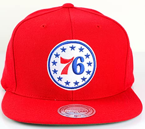 new product 29333 99200 ... shopping philadelphia 76ers mitchell ness nba current wool solid 2 snapback  cap red b7055 148a0