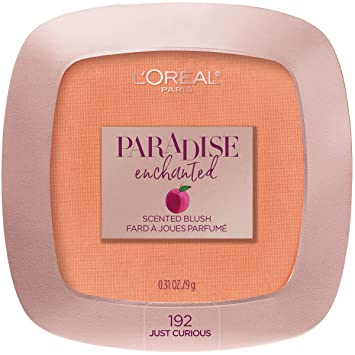 8664d3ba8ad Image Unavailable. Image not available for. Color: L'Oreal Paris Cosmetics Paradise  Enchanted Fruit-Scented Blush ...