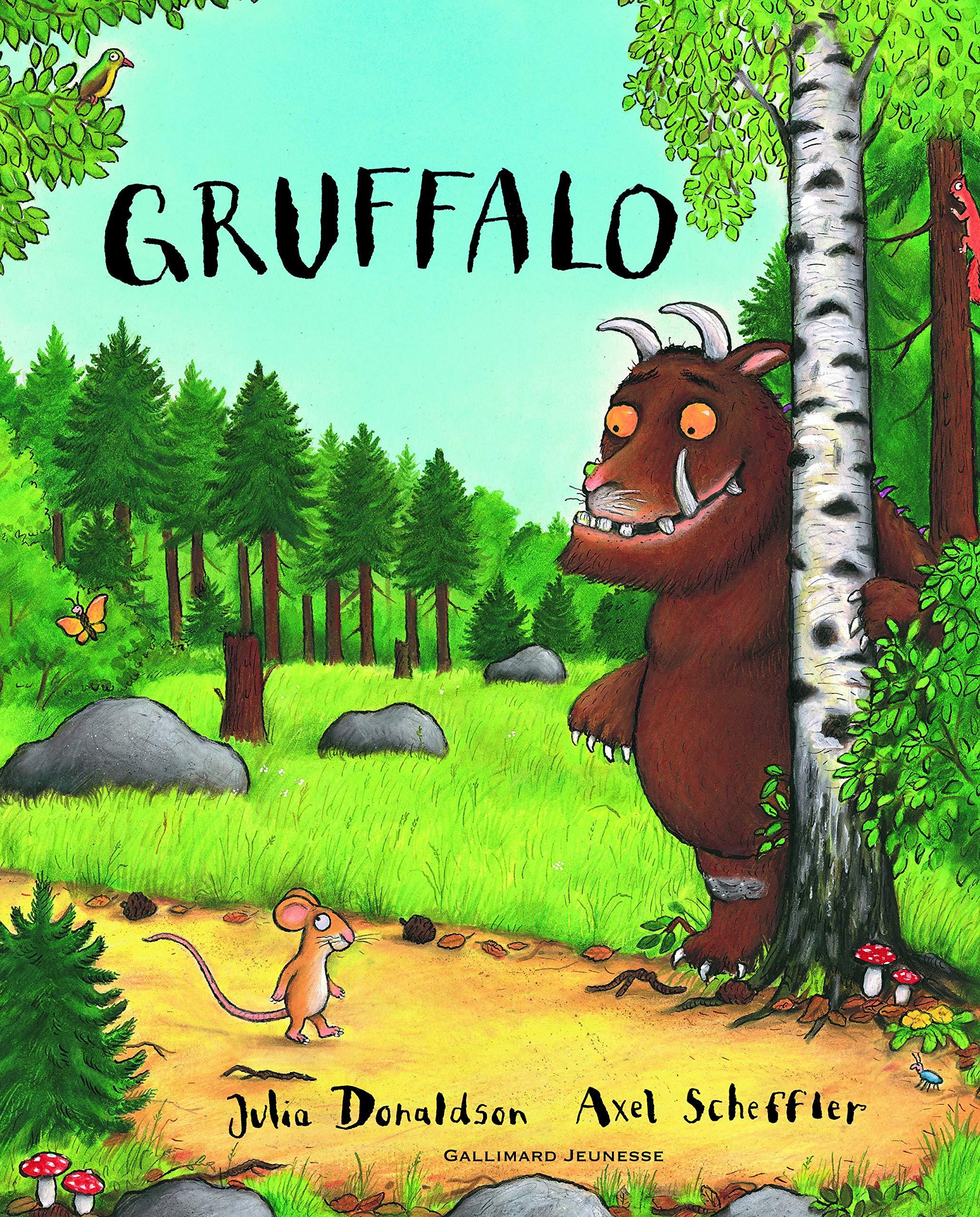 Gruffalo: Amazon.es: Donaldson,Julia, Scheffler,Axel, Ménard,Jean-François: Libros en idiomas extranjeros