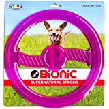 Outward Hound Toss-N-Tug Reg Purple Dog Toy