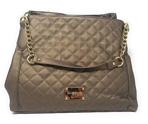 Amazon.com: BEBE Danielle Triple Entry Shopper hand bag: Shoes