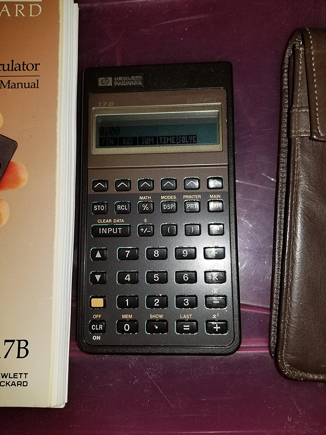 Hewlett Packard Hp-17b Business Calculator