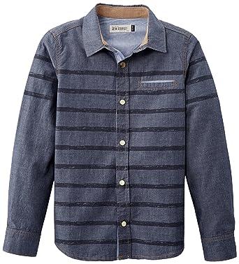 Jean Bourget Ml - Camisa para niño, Talla 6 años (6 años), Color Azul Marino: Amazon.es: Ropa y accesorios