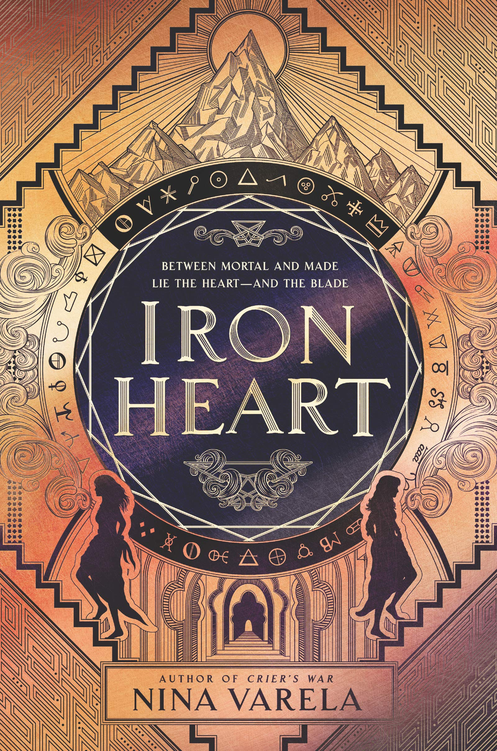Amazon.com: Iron Heart (Crier's War, 2) (9780062823977): Varela, Nina: Books