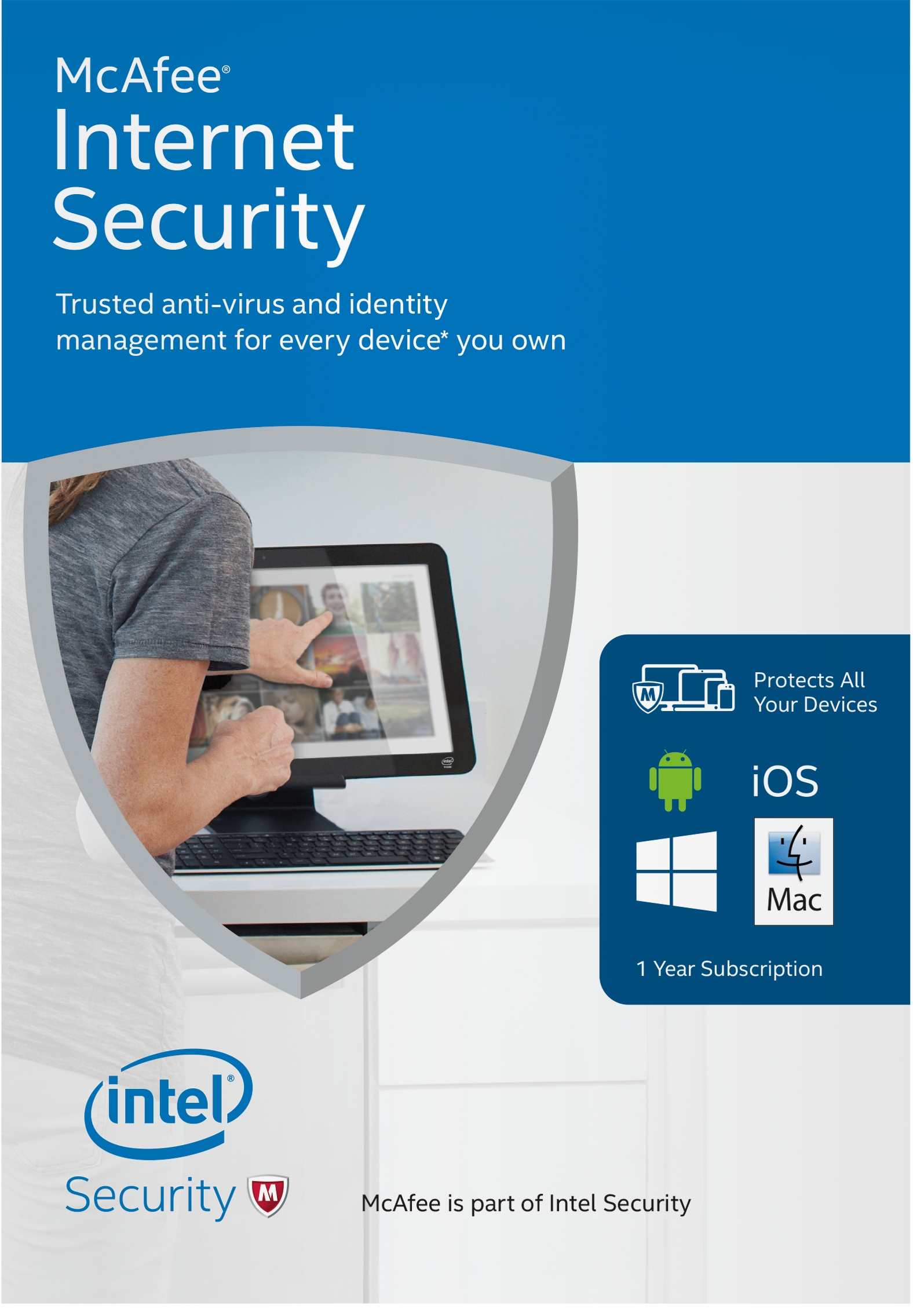 McAfee 2016 Internet Security Unlimited Device [Online Code]