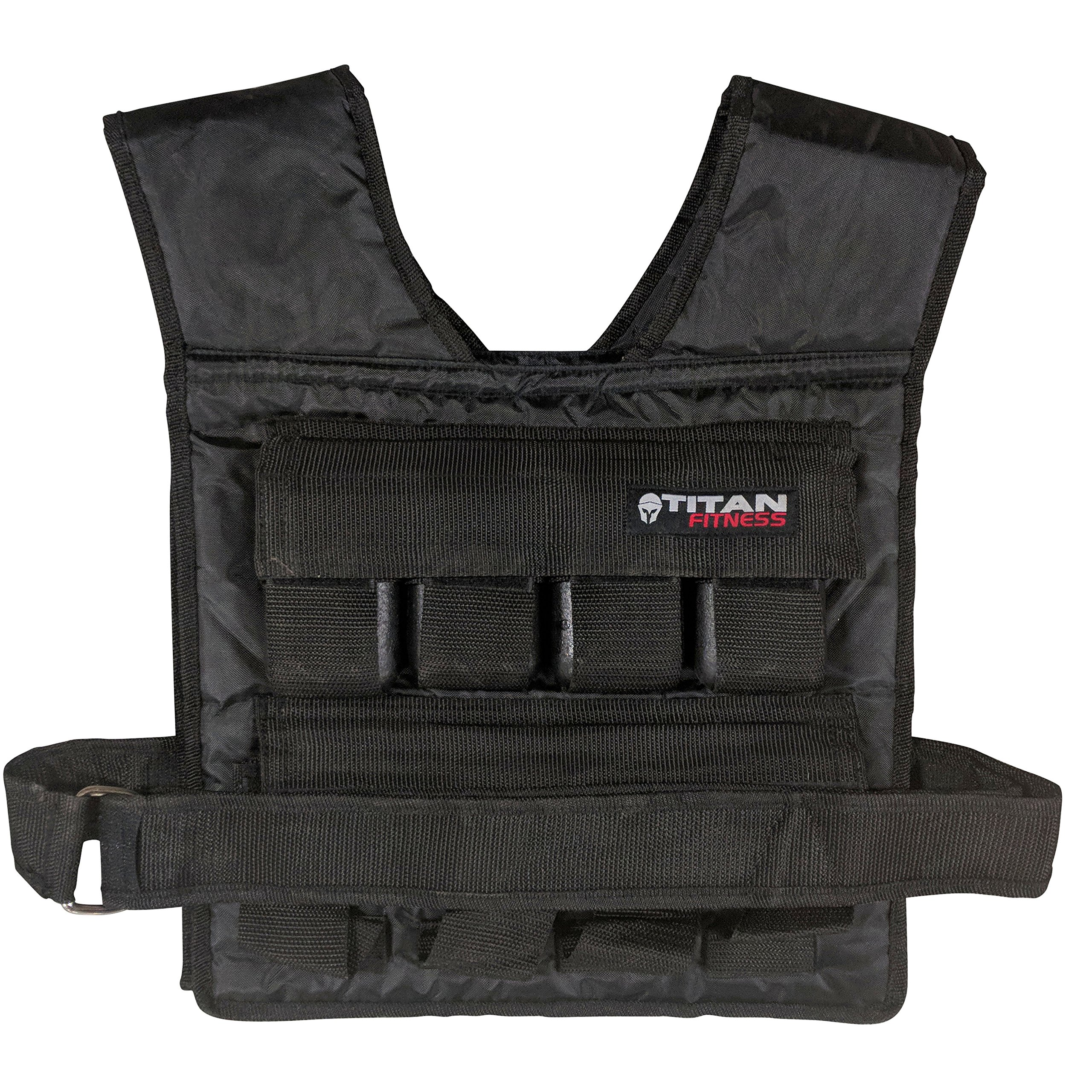 Titan Adjustable Weighted Vest 20 LB