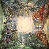 Schmidt Spiele 58765 - Quadratpuzzle, Thomas Kinkade, Viktorianischer Garten, 1000 Teile