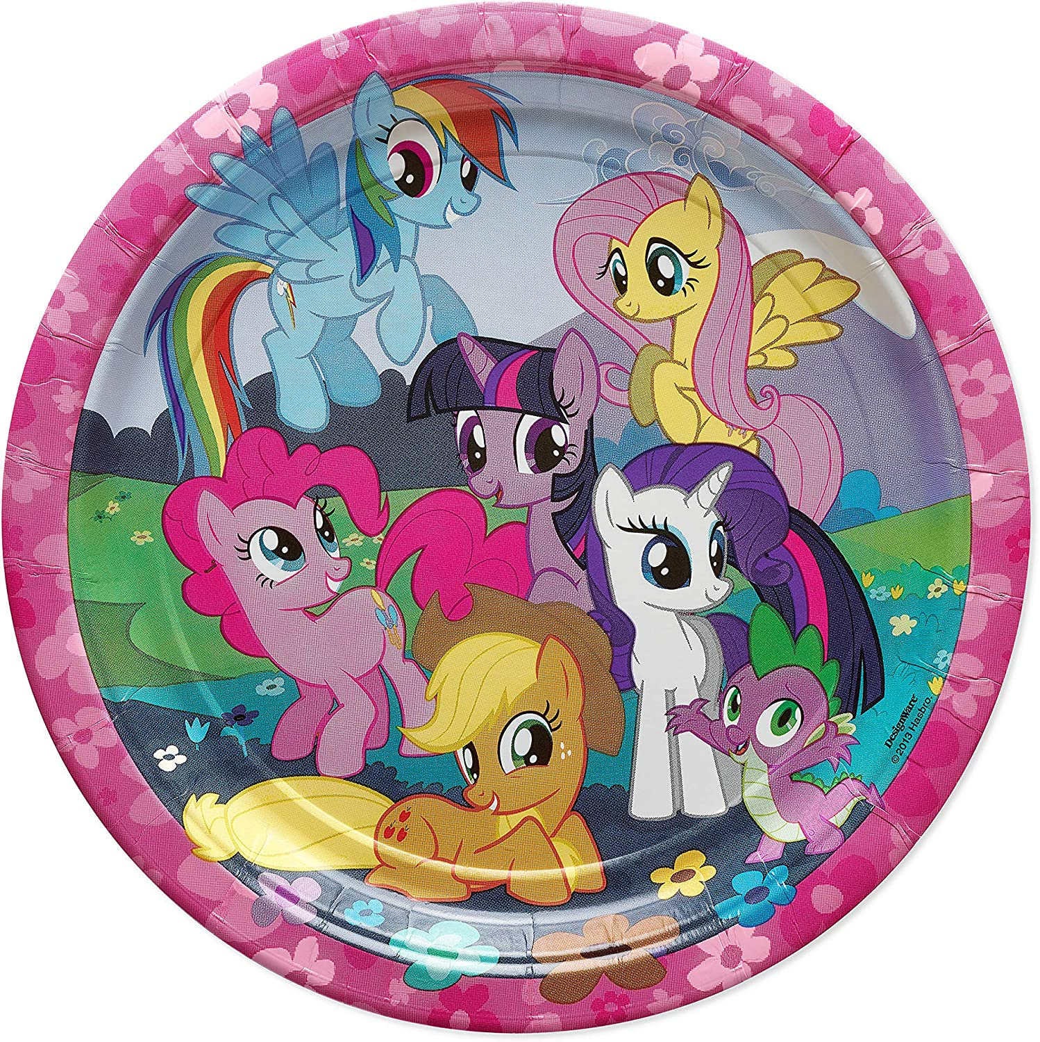 American GreetingsMy Little Pony Party Supplies Paper Dinner Plates, 8-Count