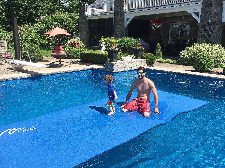 Amazon.com: Floating Mat (Blue & Black- FLT001): Sports & Outdoors