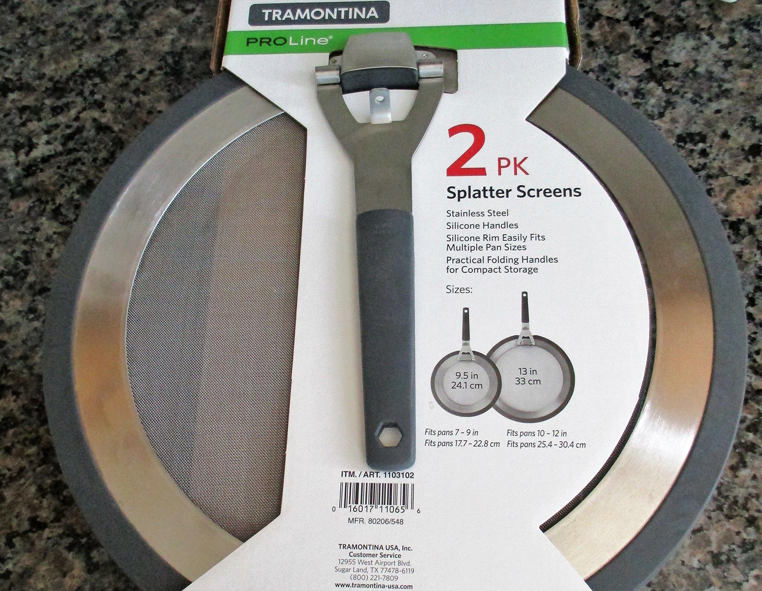 Tramontina Stainless Steel Splatter Screen 2 Pack