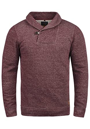 Blend Janosch Herren Sweatshirt Pullover Pulli Mit Schalkragen  Amazon.de   Bekleidung 22306a239d