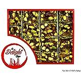 Luxury Honey Turkish Delight w/ Pistachio – Fresh, Handcrafted Snacks – Vegan, Halal, Gluten Free Certified