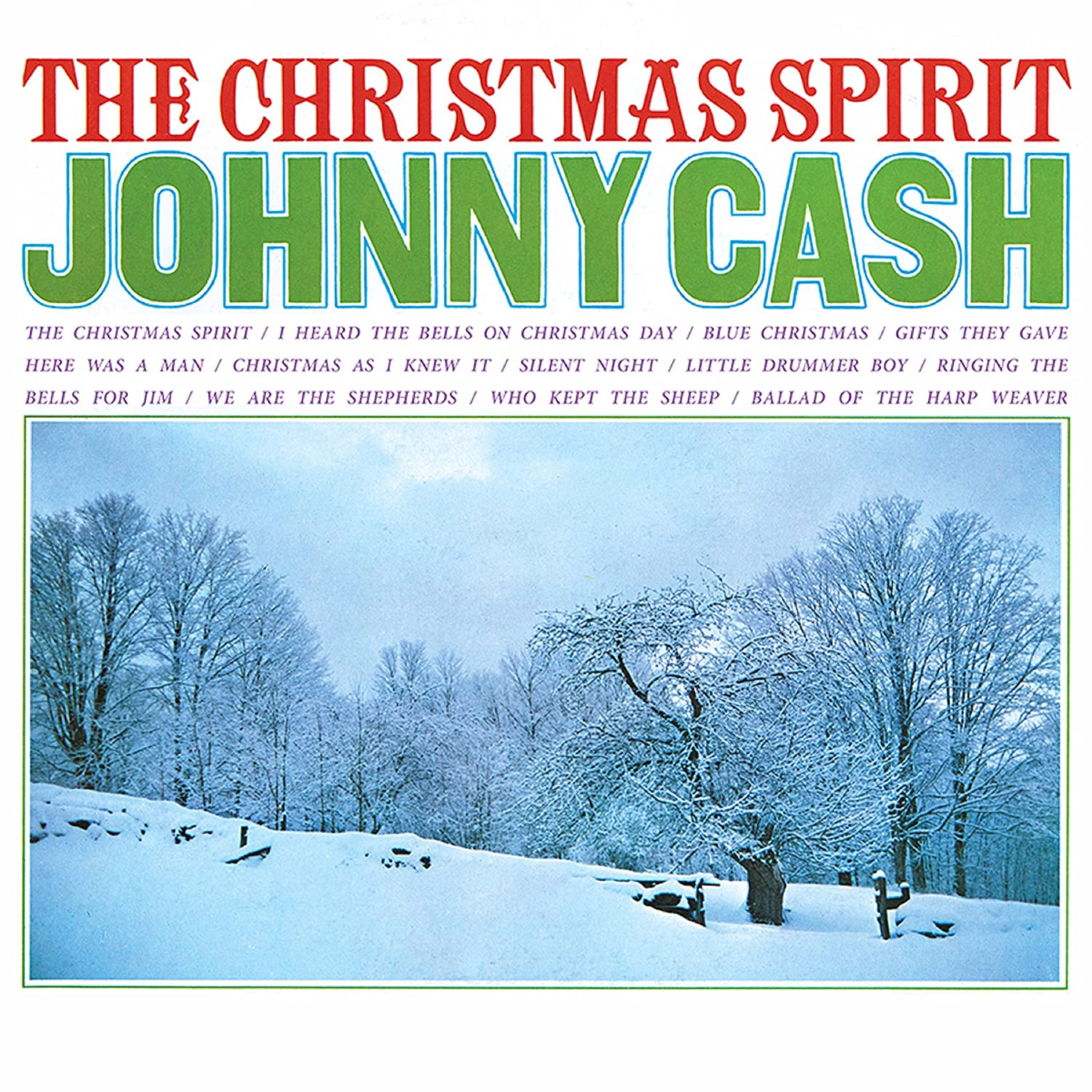 Johnny Cash - The Christmas Spirit (180 Gram RED Audiophile Vinyl ...