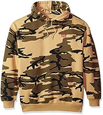 5bc1662d09 Amazon.com: Brixton Men's Stith Relaxed Standard Fit Hood Fleece ...