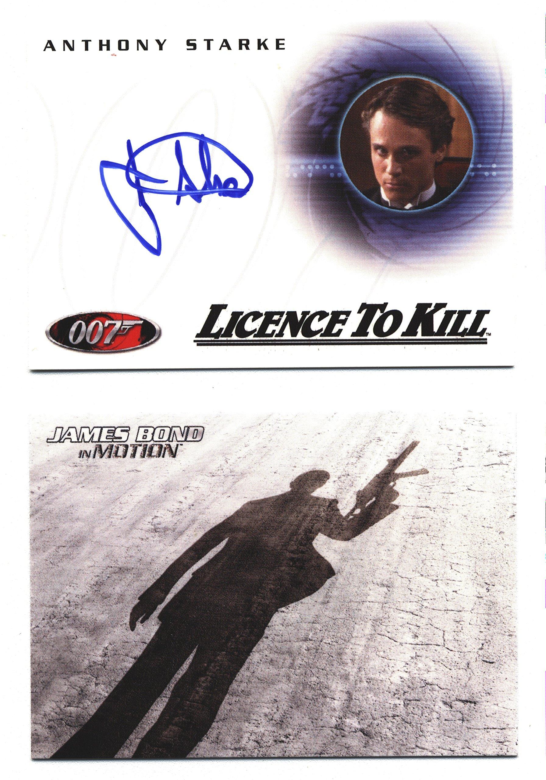 James Bond 007 in Motion Trading Card Album
