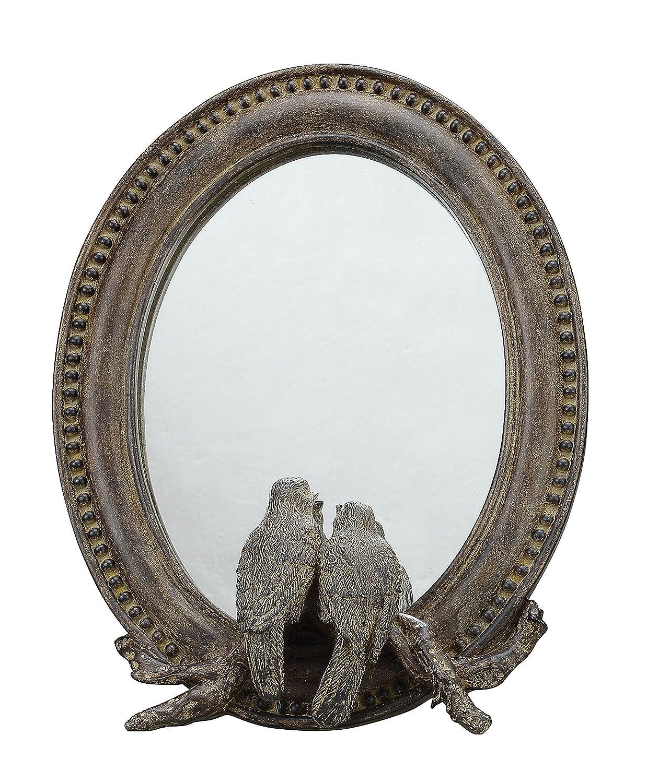 Creative Co-Op Resin Bird Mirror DA1801