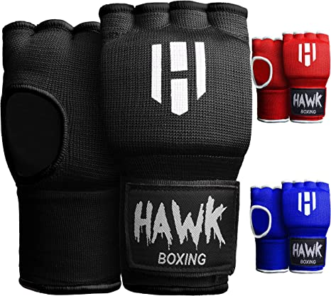 HP Inner Gloves MMA Boxing Hand Wrap Fist Gel Bandages Quick Straps Martial Art